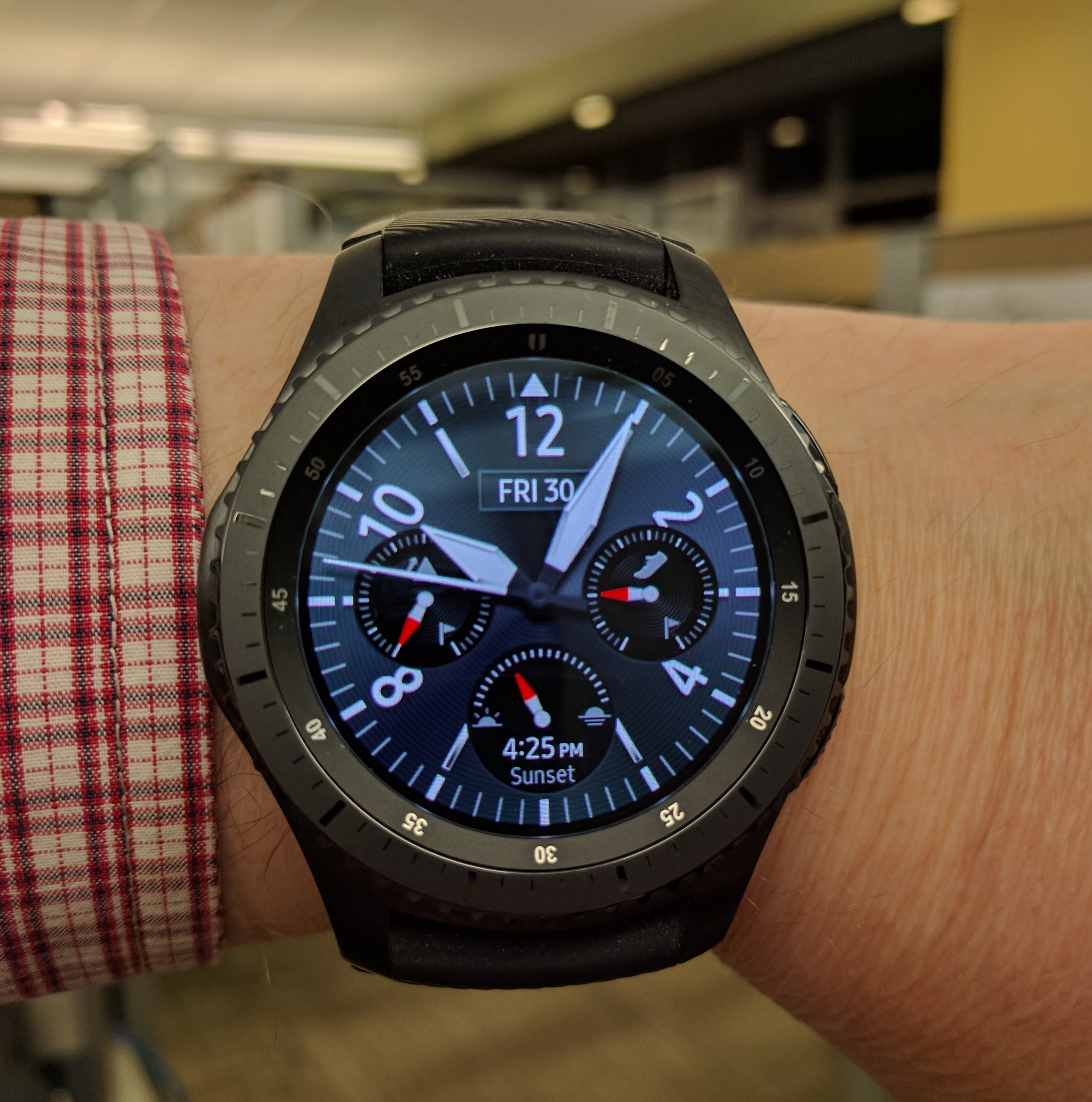 My Samsung Gear S3