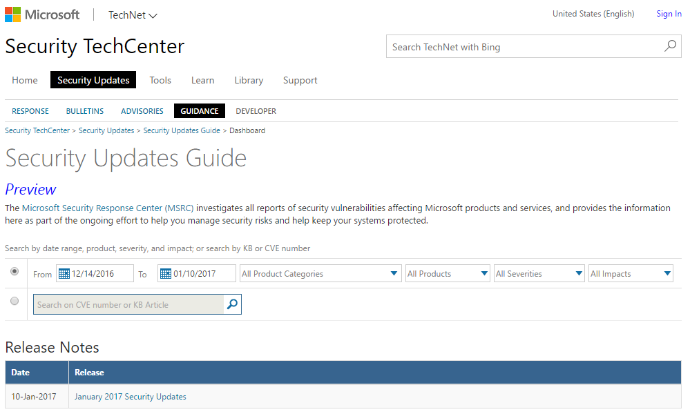 Microsoft Security Response Center (MSRC)